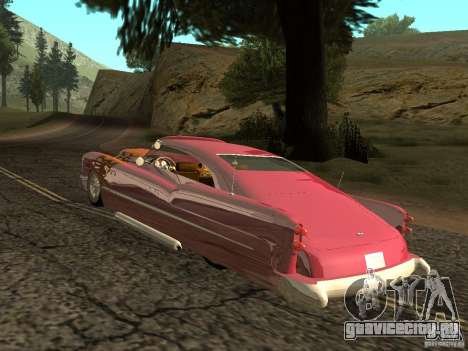 Buick Custom 1950 LowRider 1.0 для GTA San Andreas вид справа
