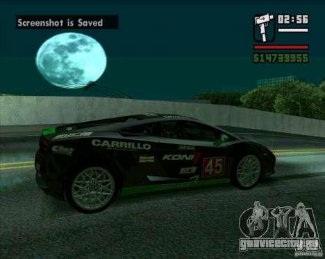 Lamborghini Gallardo LP560-4 для GTA San Andreas вид слева