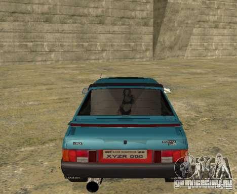 ВАЗ 21099 sparco tune для GTA San Andreas вид справа