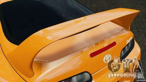 Toyota Supra Tuning для GTA 4 двигатель