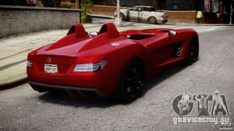 Mercedes-Benz SLR McLaren Stirling Moss [EPM] для GTA 4 вид сбоку