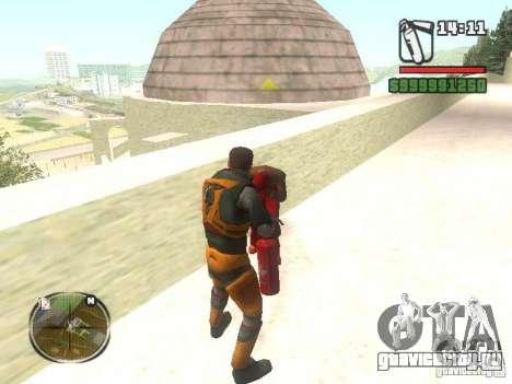 Gordon Freemen для GTA San Andreas третий скриншот