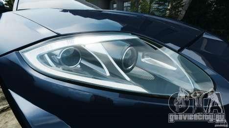 Jaguar XKR-S Trinity Edition 2012 v1.1 для GTA 4 колёса