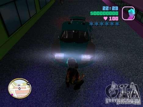 Bugatti Veyron для GTA Vice City вид справа