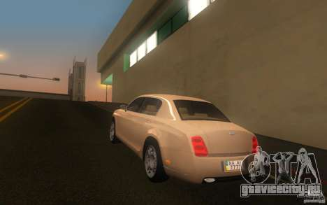Bentley Continental Flying Spur для GTA San Andreas вид слева