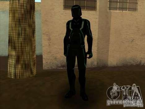 Персонаж из игры Tron: Evolution для GTA San Andreas шестой скриншот