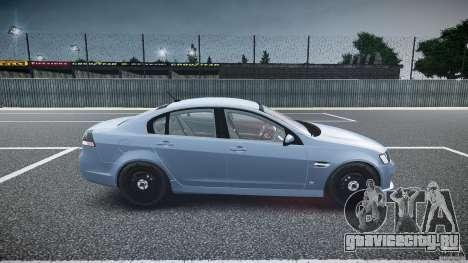 Holden Commodore (FBINOoSE) для GTA 4 вид изнутри