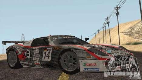 Ford GT Matech GT3 Series для GTA San Andreas салон
