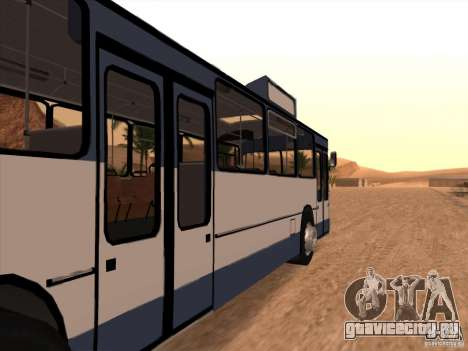 MAN SL200 Exclusive v.1.00 для GTA San Andreas вид справа