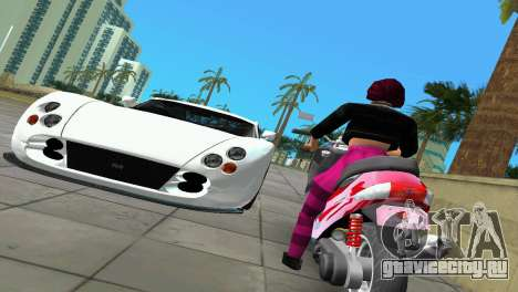 Suzuki Address 110 Custom Ver.1.3 для GTA Vice City вид сзади слева