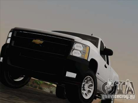 Chevrolet Silverado 2500HD 2013 для GTA San Andreas вид снизу