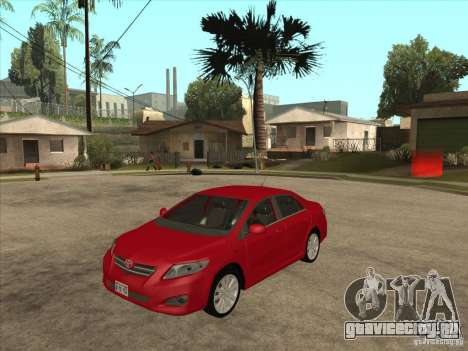 Toyota Corolla 2008 для GTA San Andreas