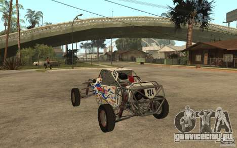 CORR Super Buggy 2 (Hawley) для GTA San Andreas вид сзади слева