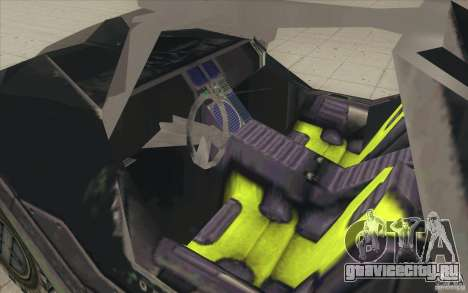 Halo Warthog для GTA San Andreas вид сбоку