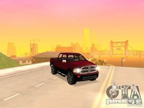 Dodge Ram 2010 для GTA San Andreas