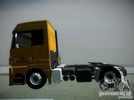 Mercedes-Benz Actros РосНефть для GTA San Andreas вид справа