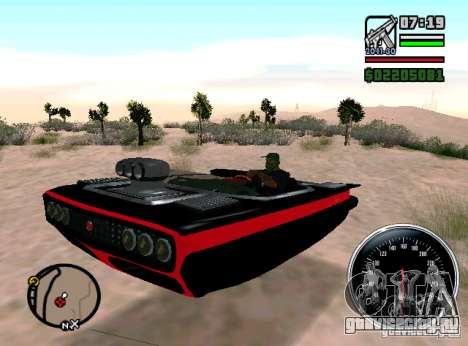 Carhealth - индикатор повреждений для GTA San Andreas