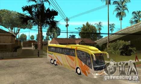 Irizar PB Scania K420 6x2 для GTA San Andreas вид сзади