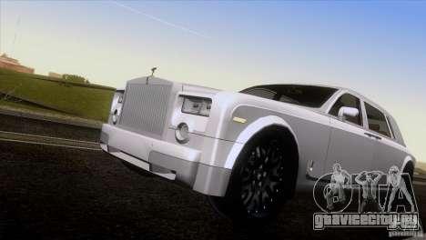 Rolls Royce Phantom Hamann для GTA San Andreas вид сверху