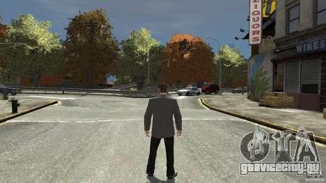 Чёрные джинсы для GTA 4 третий скриншот