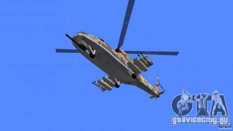 Mi-24 HindB для GTA Vice City вид справа