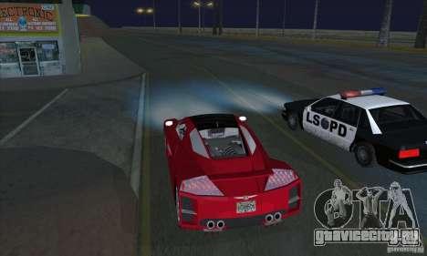 Xenon Lights (Ксеноновые Фары) для GTA San Andreas второй скриншот