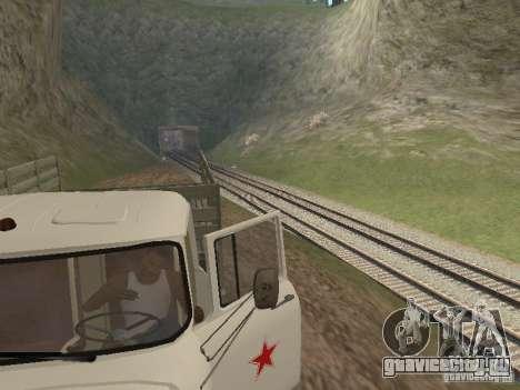 ЗИЛ 131 Парадный для GTA San Andreas вид сзади