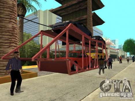 American Trailers Pack для GTA San Andreas