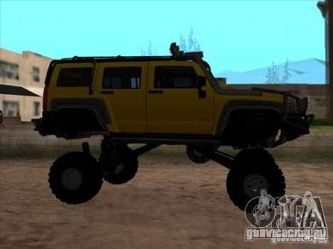 Hummer H3 Trial для GTA San Andreas вид слева