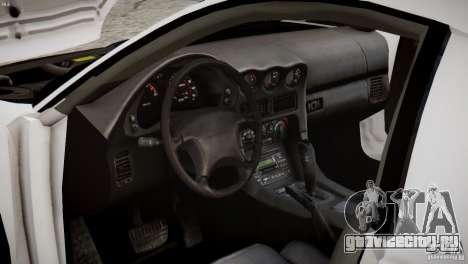 Mitsubishi 3000GT ST для GTA 4 вид изнутри