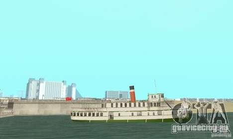 RMS Segwun Ferry для GTA San Andreas вид справа