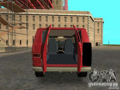 Dodge Tradesman 7z для GTA San Andreas вид справа