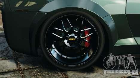 Chevrolet Camaro SS EmreAKIN Edition для GTA 4 вид изнутри