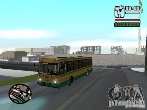 ЛиАЗ 5283.01 для GTA San Andreas вид сзади