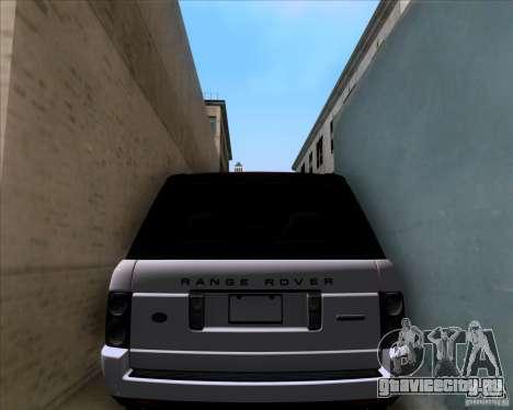 Range Rover Hamann Edition для GTA San Andreas вид сбоку
