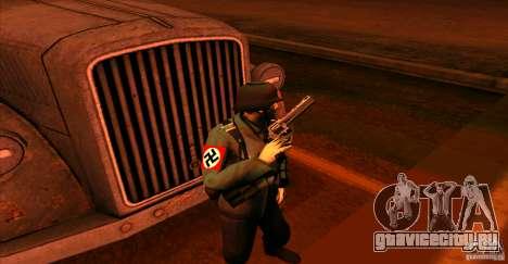 Солдат Вермахта для GTA San Andreas четвёртый скриншот
