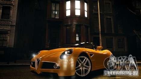 Alfa Romeo 8C Spyder для GTA 4
