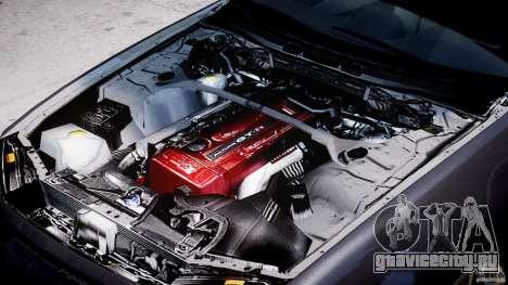Nissan Skyline GT-R 34 V-Spec для GTA 4 вид сбоку