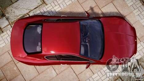 Maserati GranTurismo v1.0 для GTA 4 вид справа