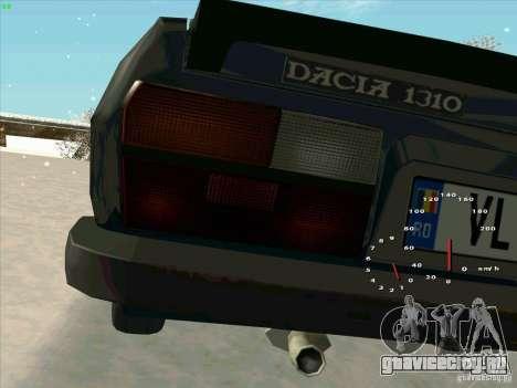 Dacia 1310 Sport для GTA San Andreas вид сзади