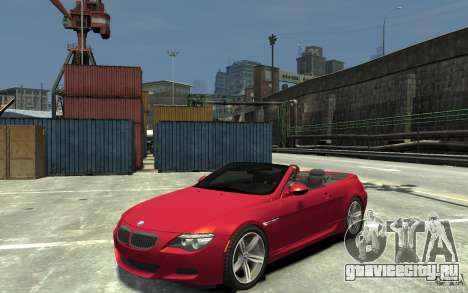 BMW M6 Convertible для GTA 4