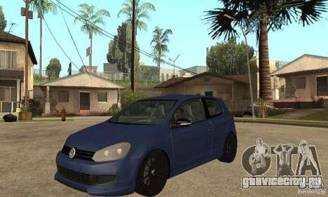 Volkswagen Golf Mk6 2010 для GTA San Andreas