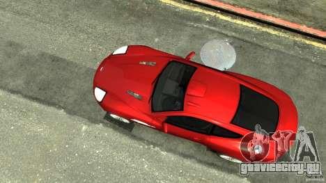 Aston Martin Vanquish S v2.0 с тонировкой для GTA 4 вид справа