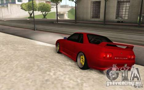 Nissan Skyline GTR-32 StanceWork для GTA San Andreas вид слева