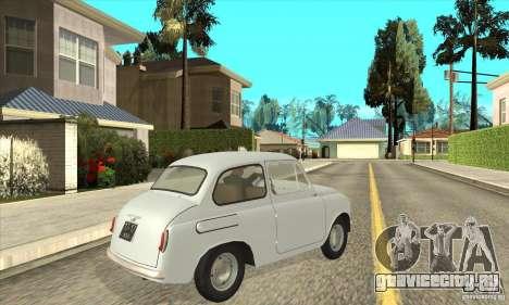 Заз - 965 для GTA San Andreas вид справа