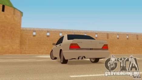 Mercedes-Benz 500SE для GTA San Andreas вид слева