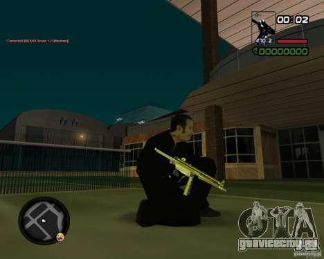 MP5 Gold для GTA San Andreas