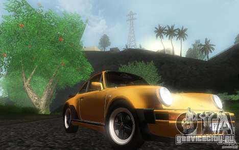 Porsche 911 Turbo 1982 для GTA San Andreas вид сзади