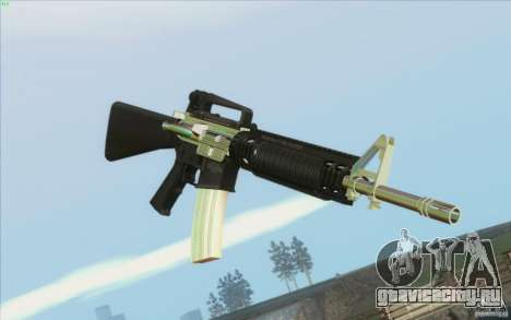 Low Chrome Weapon Pack для GTA San Andreas второй скриншот