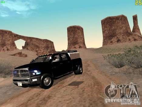 Dodge Ram 3500 Unmarked для GTA San Andreas вид слева